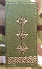 Погон Полковник олива Згідно Наказу 606 без обшивки