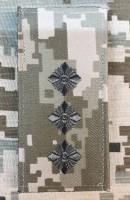 Погон Старший лейтенант ЗСУ ММ14 Згідно Наказу 606 без обшивки