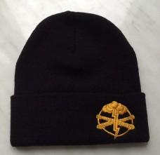 Купить Шапка з вишивкою Артилерія ЗСУ чорна  в интернет-магазине Каптерка в Киеве и Украине