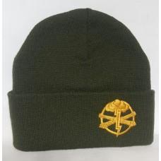 Шапка з вишивкою Артилерія ЗСУ олива