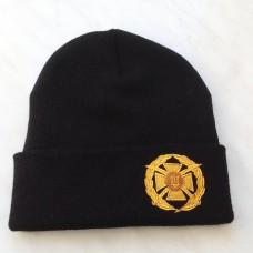 Купить Шапка з вишивкою ЗСУ (чорна) в интернет-магазине Каптерка в Киеве и Украине