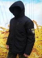 Зимняя куртка бушлат Полиция