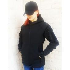 Куртка софтшел Чорна Акція на останній розмір! XL