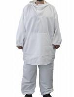 Белый маскхалат брюки и блуза