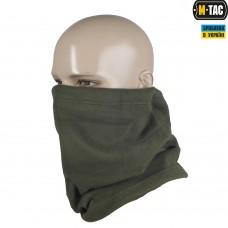 M-Tac зимний шарф-труба цвет олива флис 330гм Комфорт холод *****