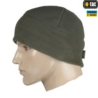 Шапка флисовая M-TAC WATCH CAP OLIVE 330гм Комфорт холод ****