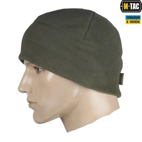 Купить Шапка флисовая M-TAC WATCH CAP OLIVE 330гм Комфорт холод      c632ab76460ad