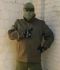Куртка софтшел олива