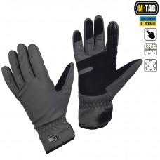 Зимние перчатки софтшелл M-Tac WINTER TACTICAL WATERPROOF FG