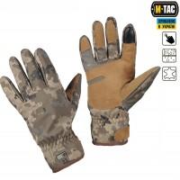 Зимние перчатки софтшелл M-Tac WINTER TACTICAL WATERPROOF MM14