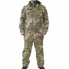 Зимний костюм камуфляж укрпиксель на флисе Акция на последний размер