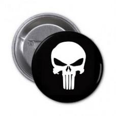 Купить Значок Каратель Punisher в интернет-магазине Каптерка в Киеве и Украине