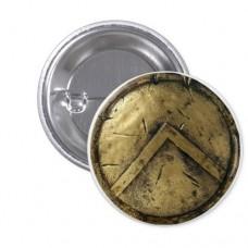 Значок Спартанский щит