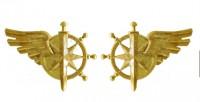 Емблема на комірець Служба військових сполучень