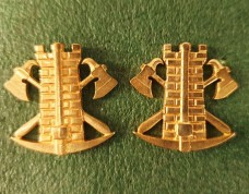 Емблема на комірець Інженерні війська та спеціалісти інженерного озброєння