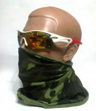 Защитные очки белая оправа, 4 линзы, вставка для диоптрических линз
