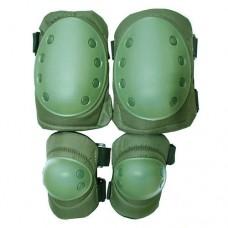 Купить Комплект наколенники и налокотники олива Распродажа в интернет-магазине Каптерка в Киеве и Украине