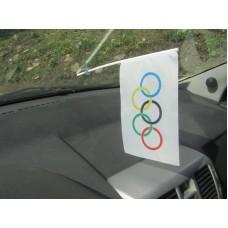 Автомобільний прапорець Олімпіада