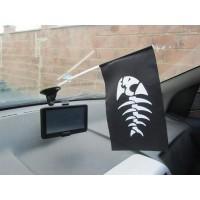 Рirate Fish прапорець в авто