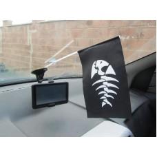 Автомобільний прапорець Рirate Fish