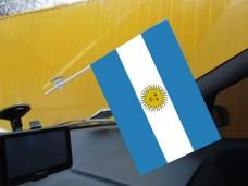Аргентина автомобильный флажок