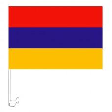 Автомобильный флажок Армения с креплением
