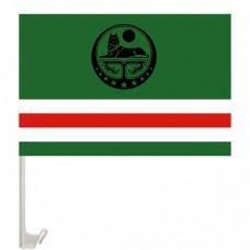Флаг Ичкерии флажок с креплением на авто