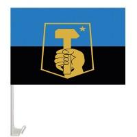 Автомобильный флаг Донецк
