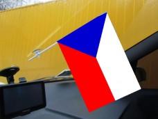 Флаг Чехии автомобильный
