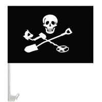 Автомобільний прапорець Чорний Копач