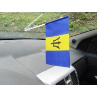 Прапорець в авто Барбадос