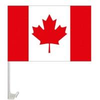 Канада флажок на авто