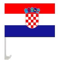 Флаг Хорватии на авто