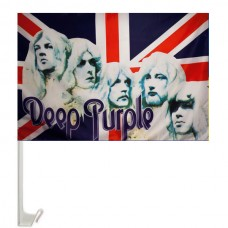 Deep Purple флаг на авто