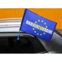 Автофлаг UKRAINEUKRAINE Евросоюз