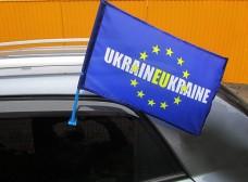 Автомобільний прапорець UKRAINEUKRAINE