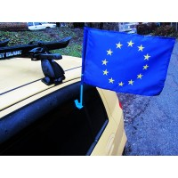 Евросоюз флаг на авто