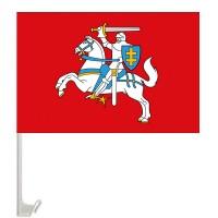 Автомобільний прапорець Погоня - історичний литовський прапор