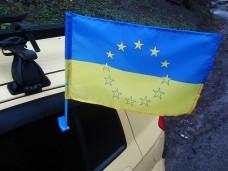 Автомобільний прапорець ЄС-Україна