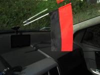 УПА прапорець в авто