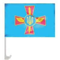 Флаг ВВС Украины авто флаг