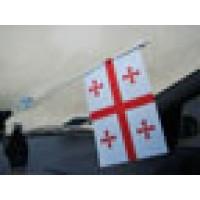 Прапорець в авто Грузія