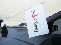 Авто флажок Я люблю Одессу