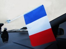Авто флажок Франция