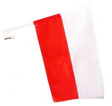 Автомобільний прапорець Польща