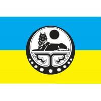Прапор Ічкерія - Україна