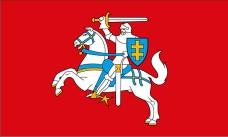 Флаг Погоня исторический флаг Литовского государства