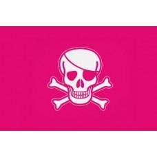 Піратський прапор рожевий