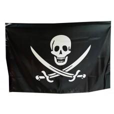Прапор піратський Череп і шаблі