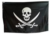 Флаг пиратский Череп и сабли